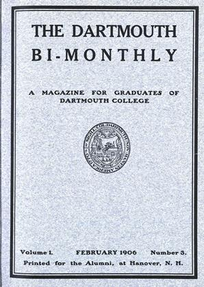 Cover for the February 1906 issue