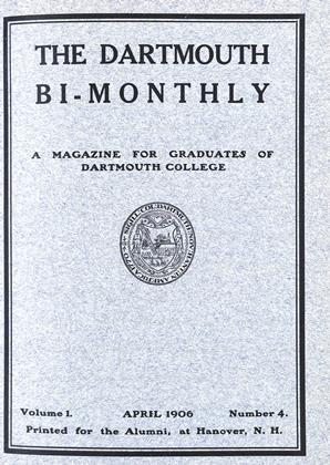 Cover for the April 1906 issue