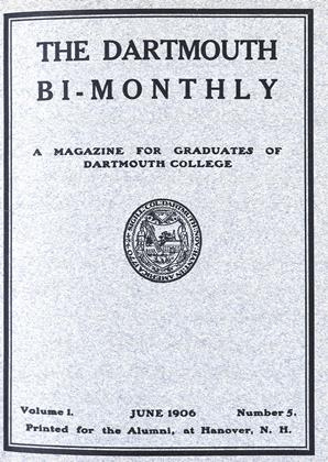 Cover for the June 1906 issue