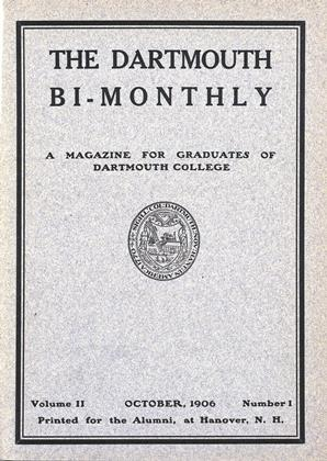Cover for the October 1906 issue