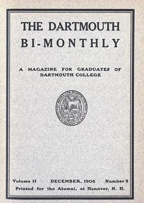 Cover for the December 1906 issue