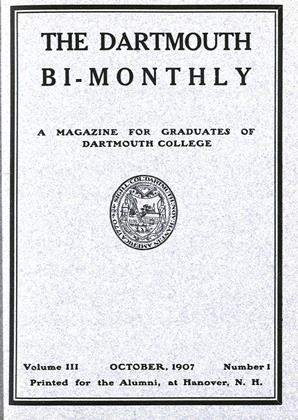 Cover for the October 1907 issue