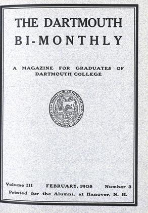 Cover for the February 1908 issue