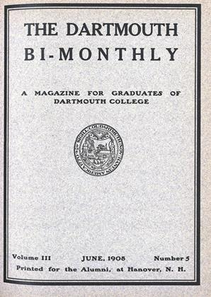 Cover for the June 1908 issue