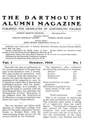 Cover for the October 1908 issue