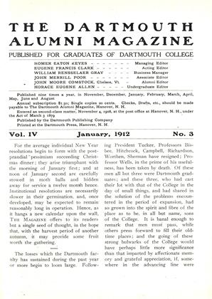 Cover for the January 1912 issue