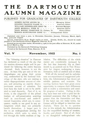 Cover for the November 1912 issue