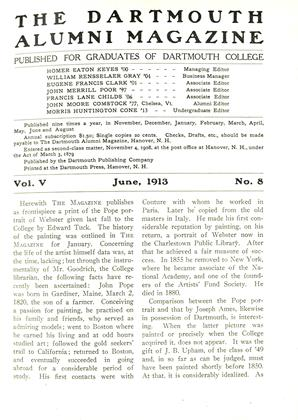 Cover for the June 1913 issue