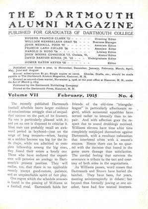 Cover for the February 1915 issue