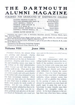 Cover for the June 1916 issue