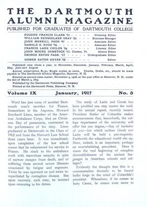 Cover for the January 1917 issue