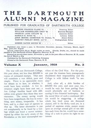 Cover for the January 1918 issue