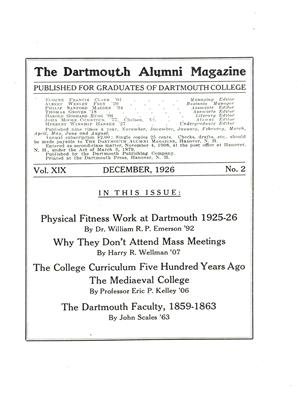 Cover for the December 1926 issue