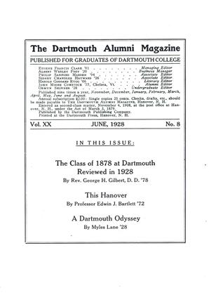 Cover for the June 1928 issue