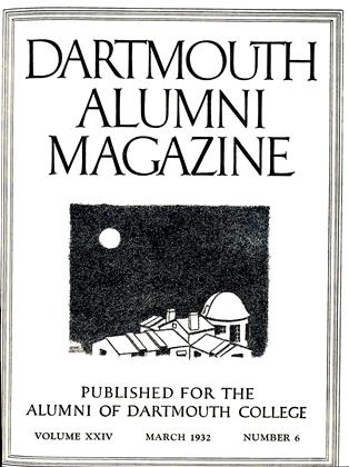 Cover for the March 1932 issue