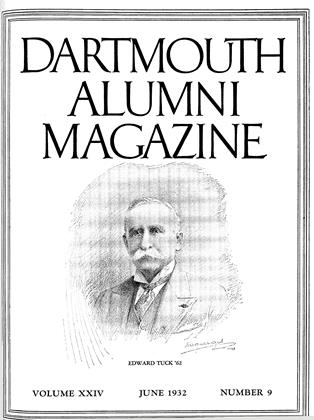Cover for the June 1932 issue