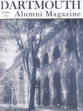 Cover for the October 1933 issue