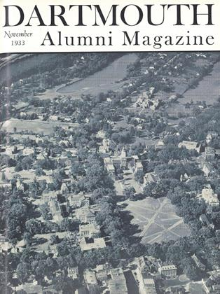 Cover for the November 1933 issue