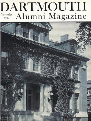 Cover for the November 1934 issue
