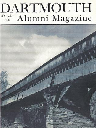 Cover for the December 1934 issue