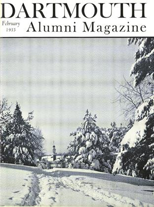 Cover for the February 1935 issue