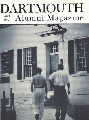 Cover for the April 1935 issue