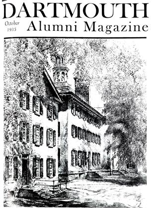 Cover for the October 1935 issue