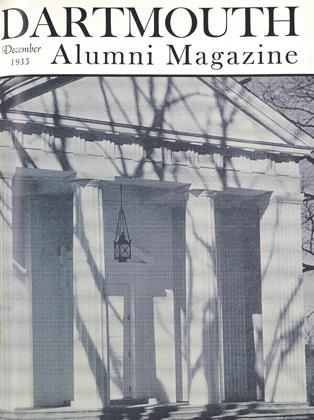 Cover for the December 1935 issue