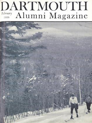 Cover for the February 1936 issue