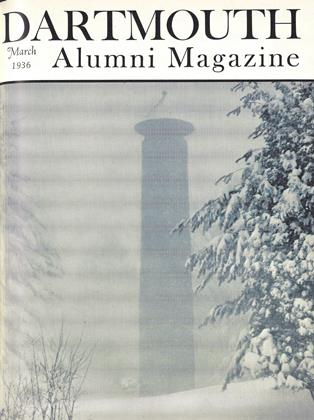 Cover for the March 1936 issue