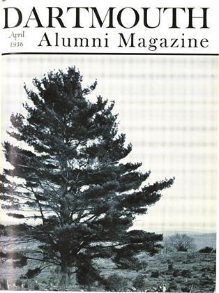 Cover for the April 1936 issue