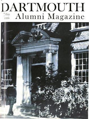 Cover for the May 1936 issue