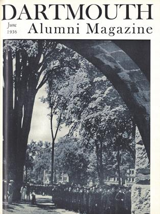 Cover for the June 1936 issue