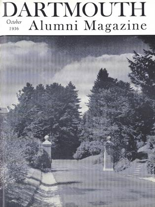 Cover for the October 1936 issue