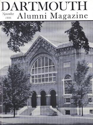 Cover for the November 1936 issue