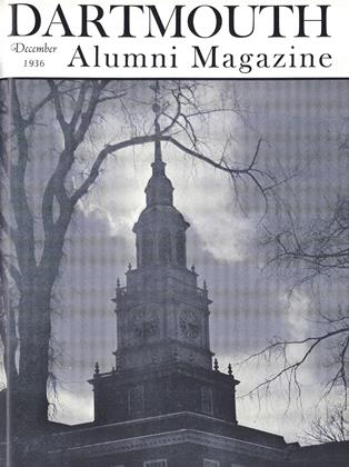 Cover for the December 1936 issue