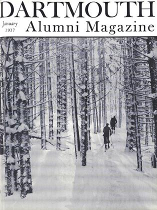 Cover for the January 1937 issue