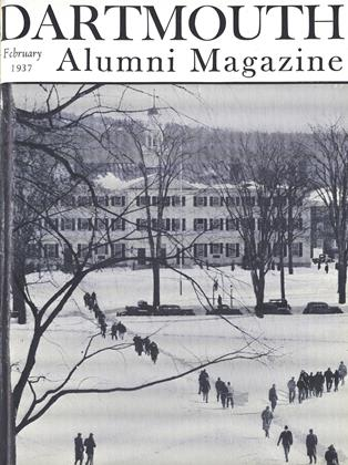 Cover for the February 1937 issue