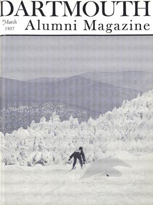 Cover for the March 1937 issue