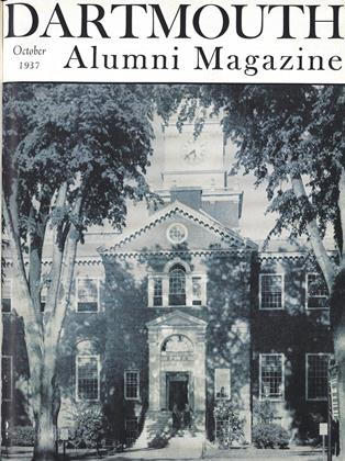 Cover for the October 1937 issue