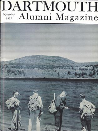 Cover for the November 1937 issue
