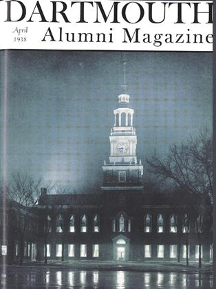 Cover for the April 1938 issue