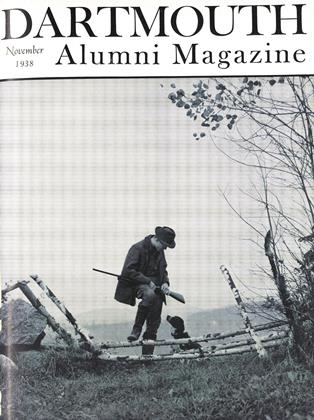 Cover for the November 1938 issue
