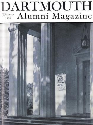 Cover for the December 1938 issue