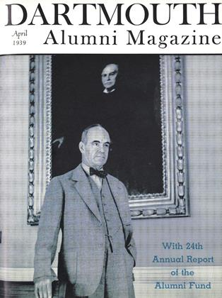 Cover for the April 1939 issue