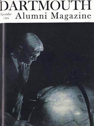 Cover for the November 1939 issue