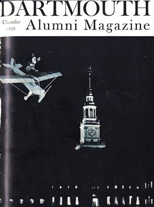 Cover for the December 1939 issue