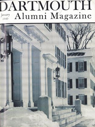 Cover for the January 1940 issue