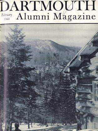 Cover for the February 1940 issue