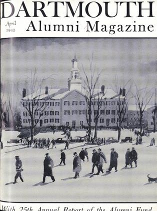 Cover for the April 1940 issue